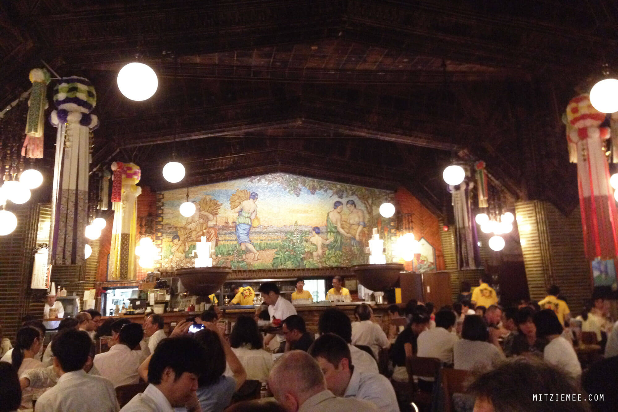 Ginza Lion, beer hall in Tokyo