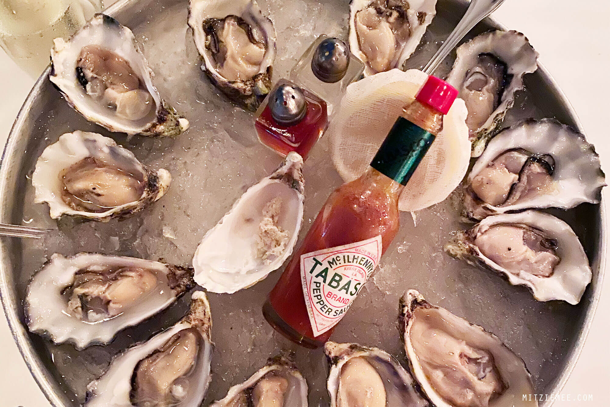 The Maine, Oysters Dubai