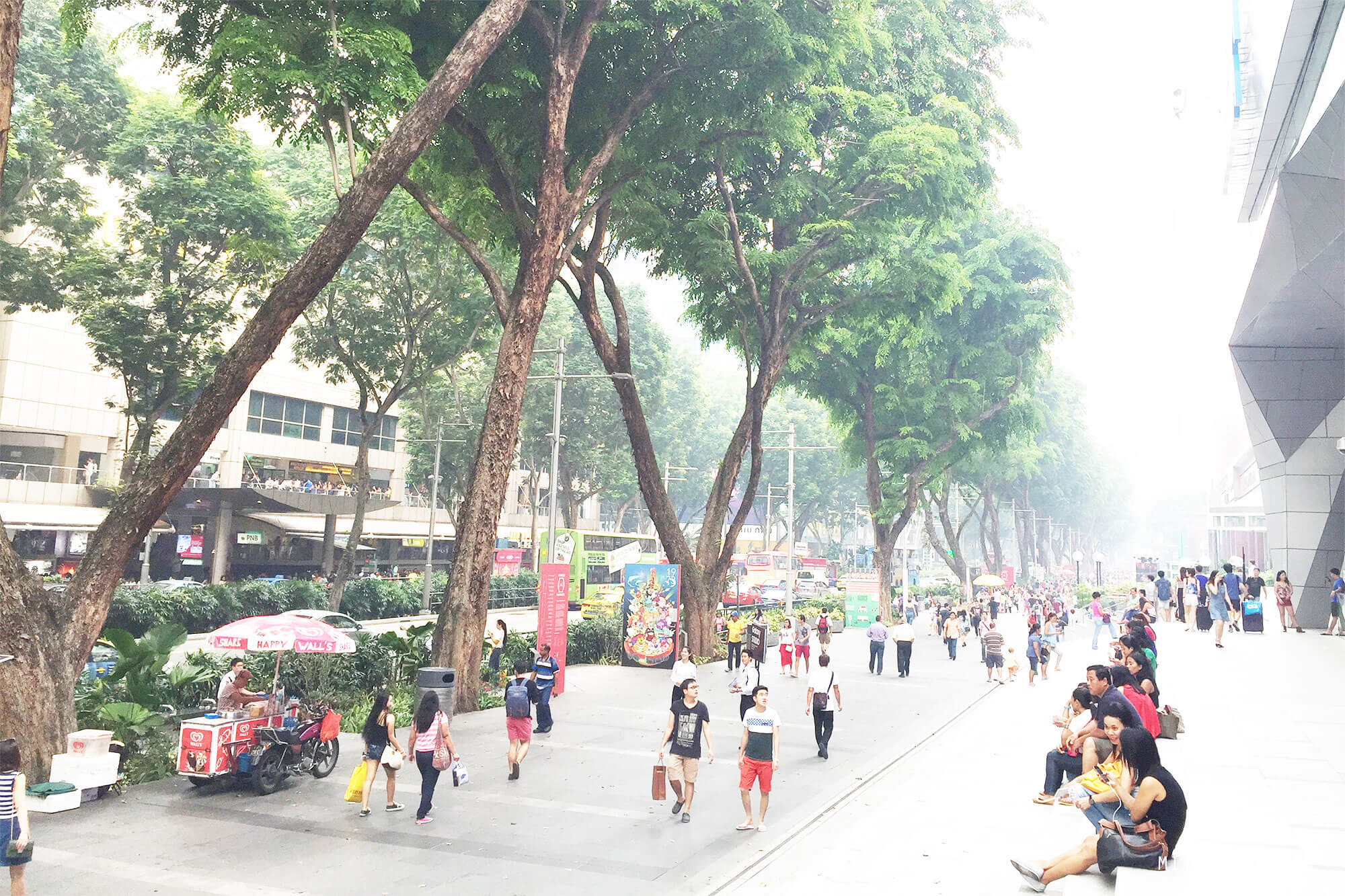 Orchard road, Singapore Blog